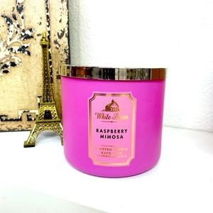 NWT Bath & Body Works Candle Raspberry Mimosa